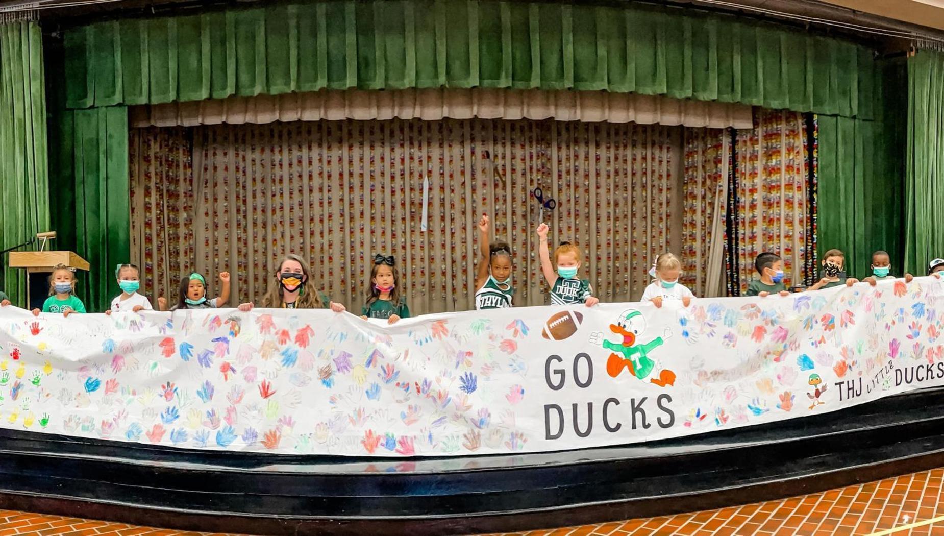 THJ ducks