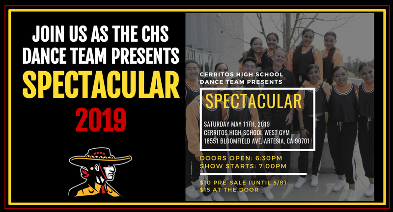 Join us for Spectacular on Saturday May 11th at 7:00pm! Featured Photo