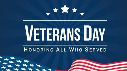 Happy Veteran's Day! Featured Photo