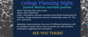 college night info