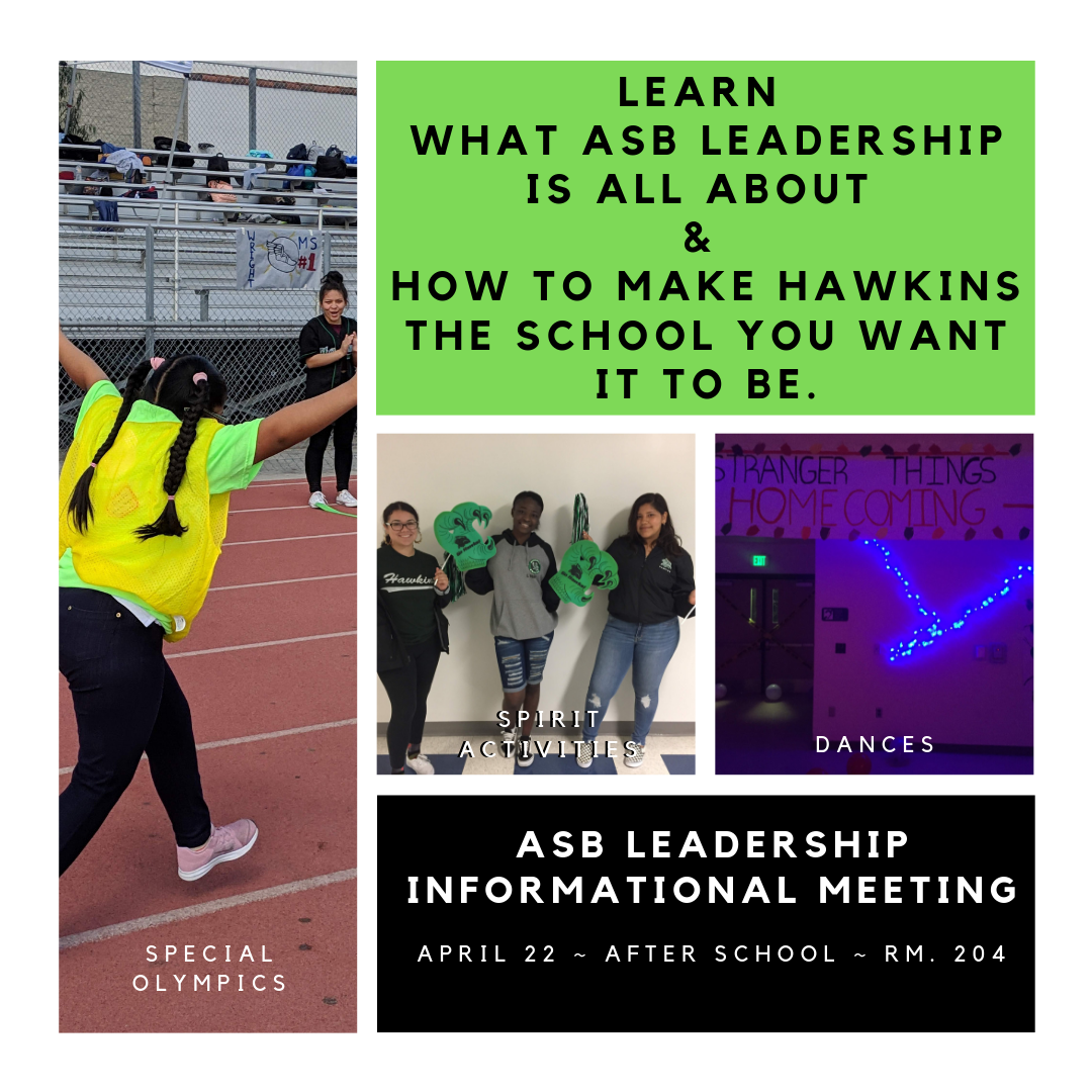 ASB Leadership Homepage - Clubs and Activities - Augustus F