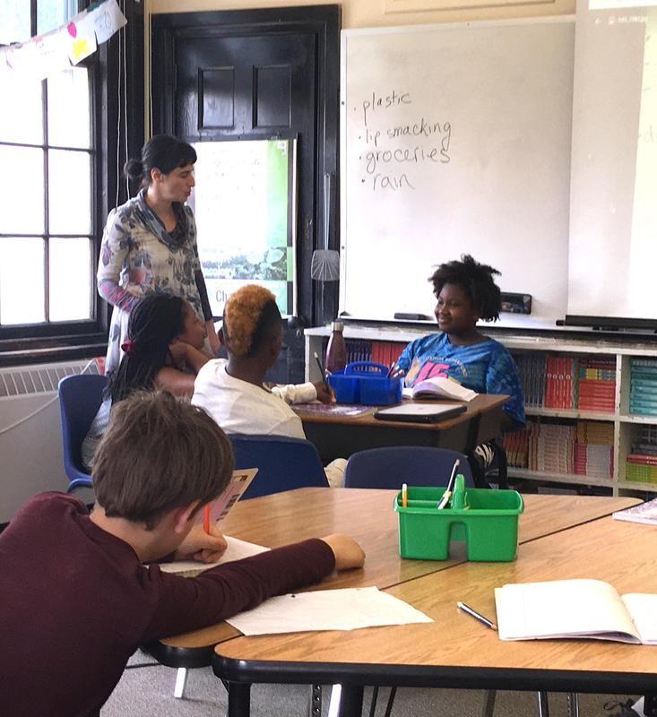 Middle School Poetry Workshop Featured Photo