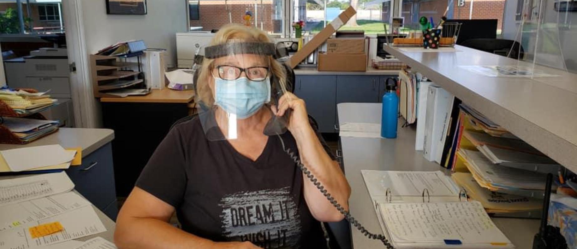 Ms. Vicki on the phone