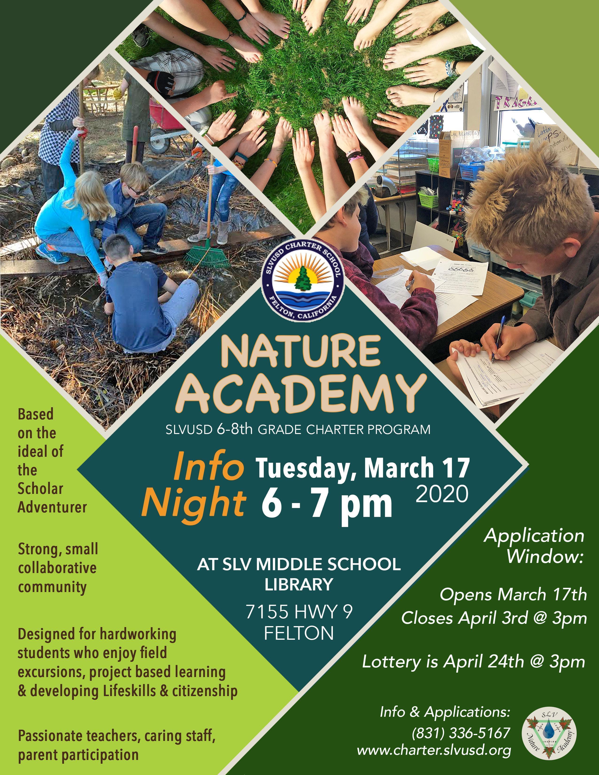 Nature Academy Information Night