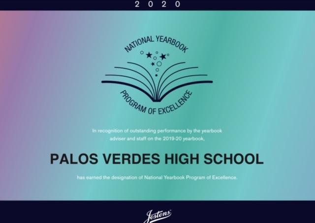 Congrats to our yearbook program! Thumbnail Image