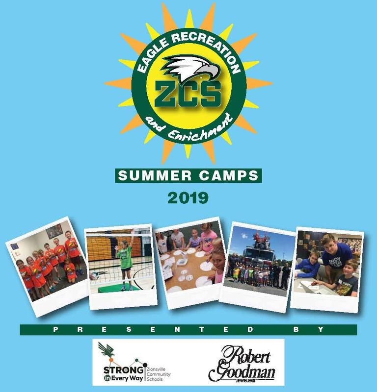 Eagle Recreation & Enrichment Summer Camps 2019 Catalog Thumbnail Image