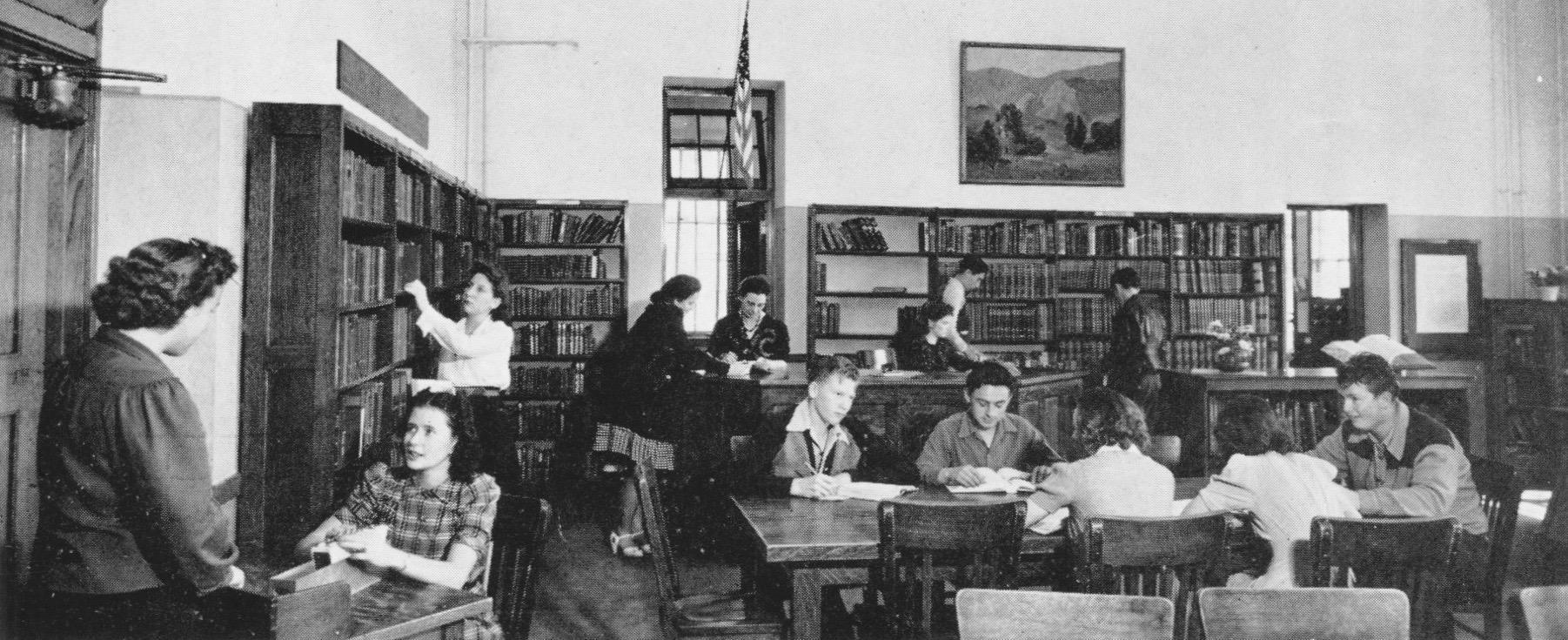 Library 1940s