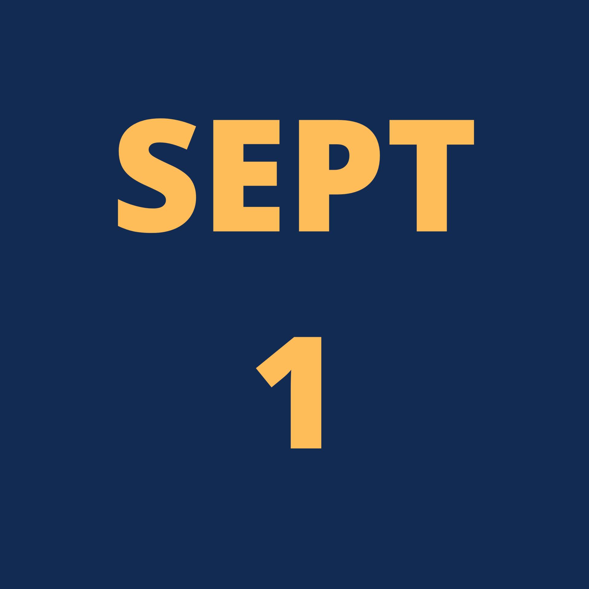 Sep 1 Icon