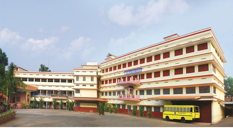NIRMALA HIGH SCHOOL . MY ALMA MATER