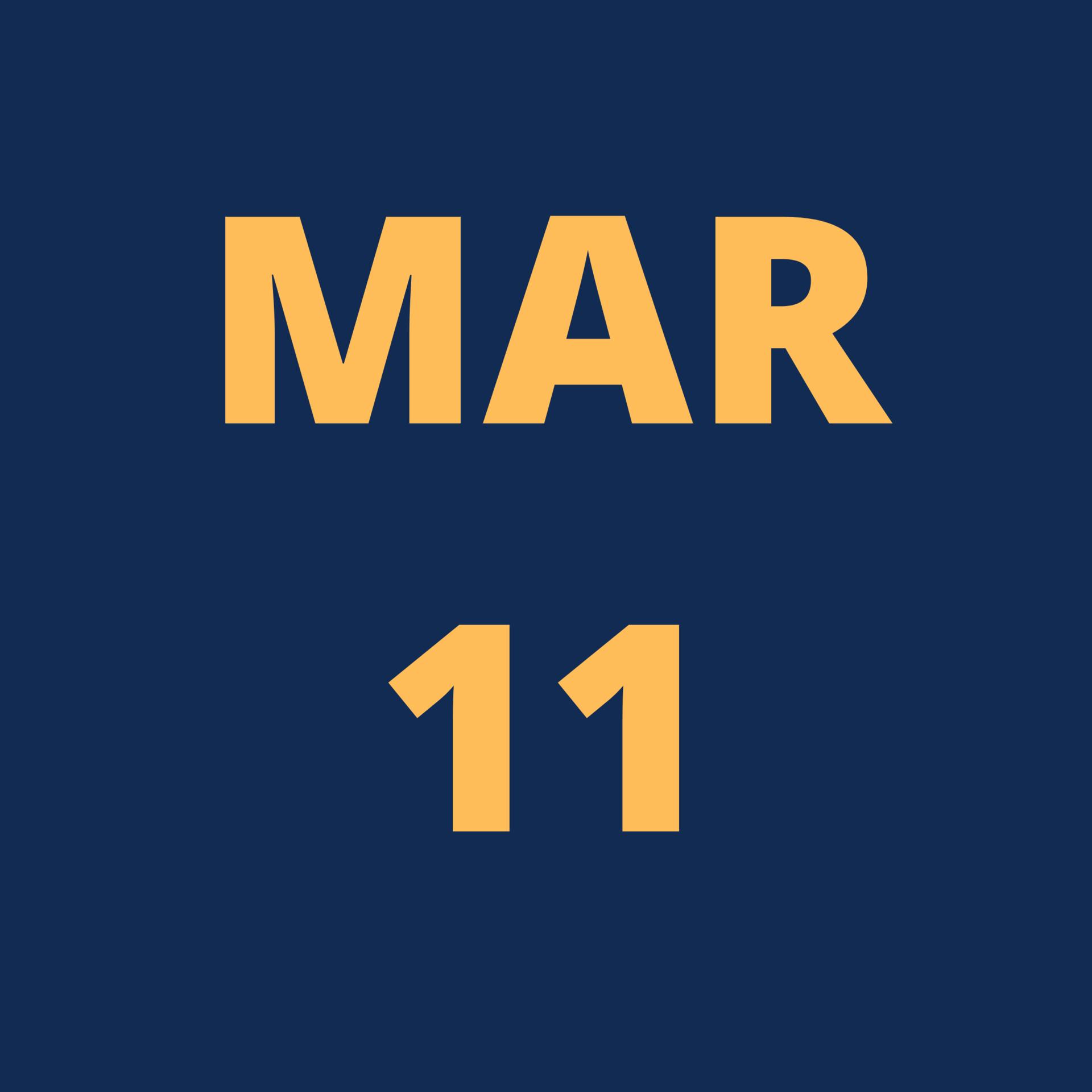 Mar 11 Icon