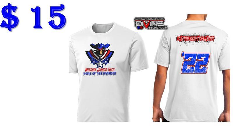 Mission Junior High Spirit Shirt