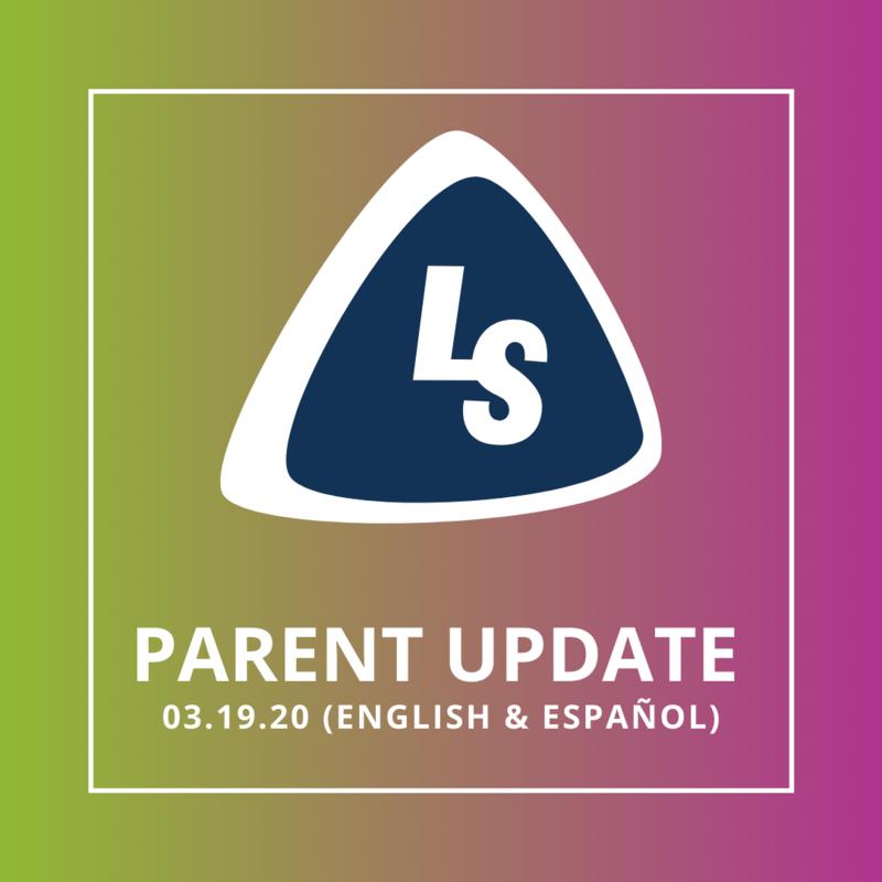 Parent Update 3.19.20 (English & Español) Featured Photo