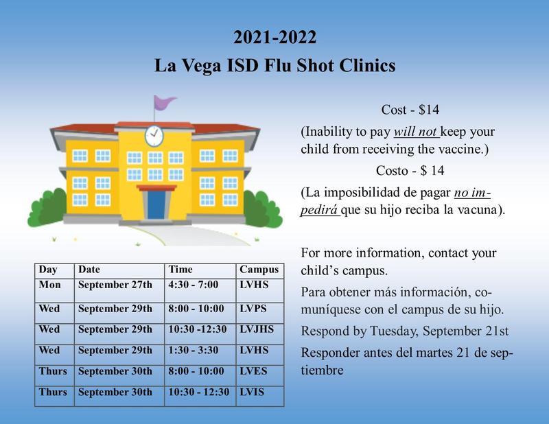 Upcoming Flu Shot Clinic Thumbnail Image