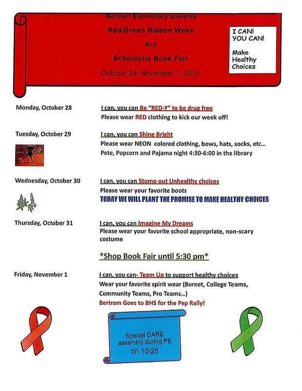 Green Ribbon Week is Monday, October 28th - Friday, November 1st Thumbnail Image