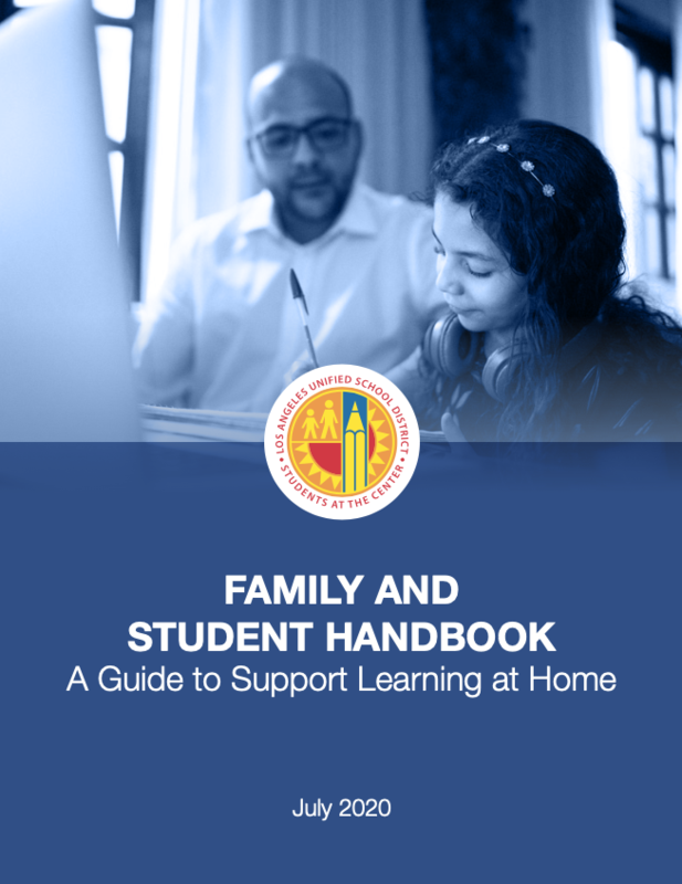 STUDENT AND FAMILY HANDBOOK 2020-2021 English and Spanish Featured Photo