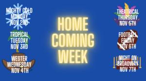 Homecoming Week Info