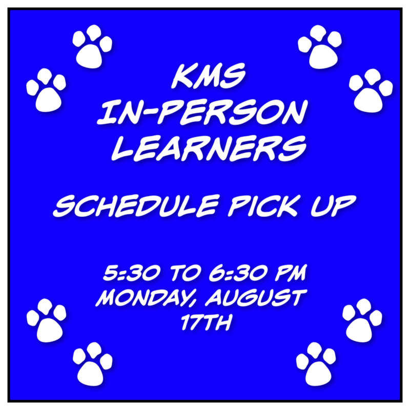 KMS In-person Schedule Pick Up Featured Photo