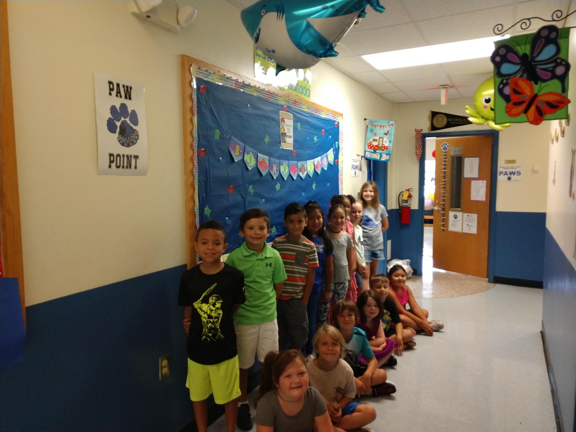 Second Grade Splash Class