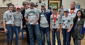 shotgun team earns third place