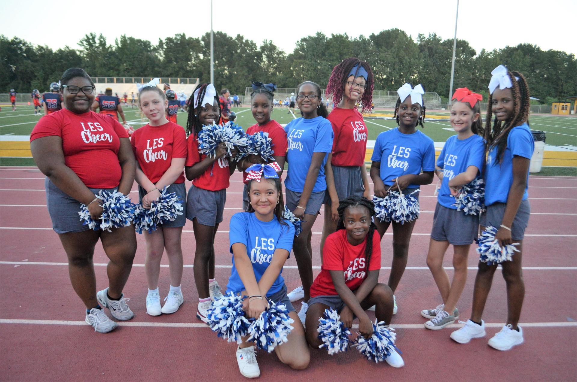 LES 2018-2019 Cheerleaders