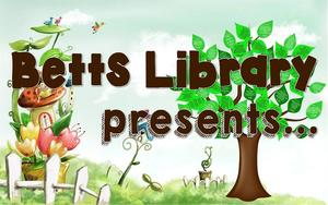 Image of Betts Library presents logo