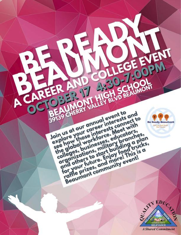 College and Career Fair Flyer