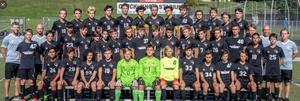Boys Varsity Soccer Team Photo