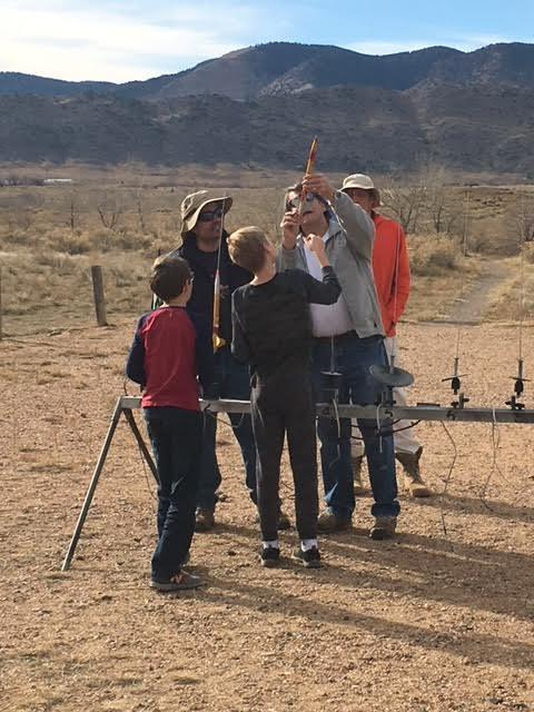 Middle School Rocket Club launches.