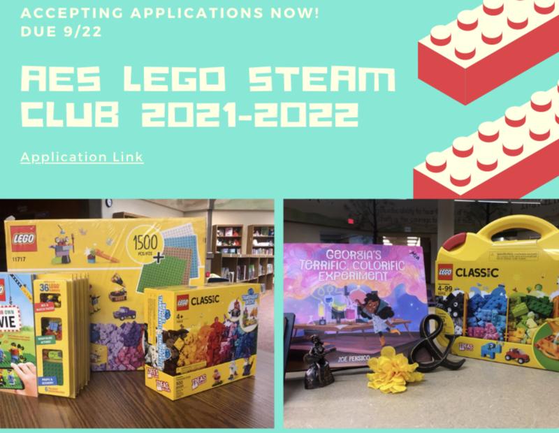 ANNOUNCING AES Lego STEAM Club Featured Photo