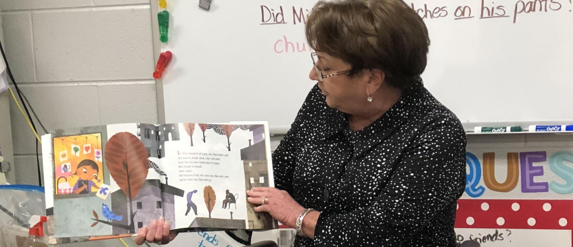 Ms. Dunson reading