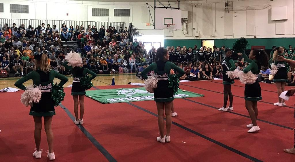 2017-2018 GMS Cheer, Pep Rally