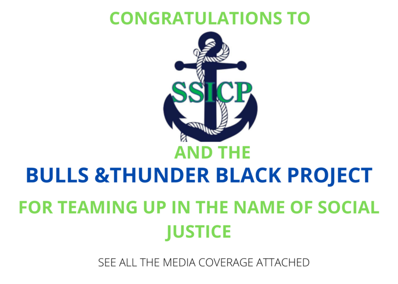 SSICP Partners With The Bulls and The Thunder Black Project In The Name of Social Justice Featured Photo