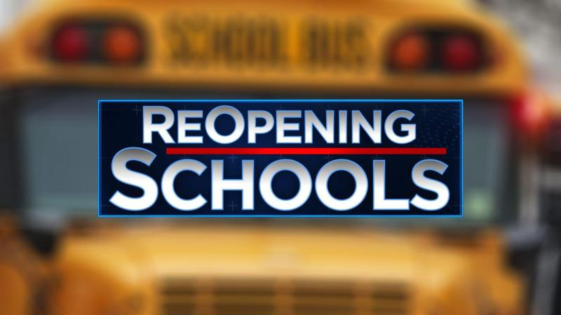 image of words reopening schools