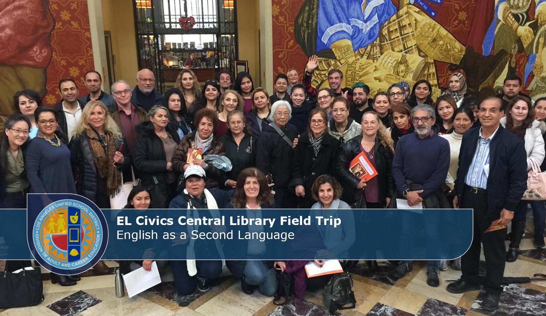 EL Civics Library Visit