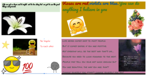 Kindness cards examples