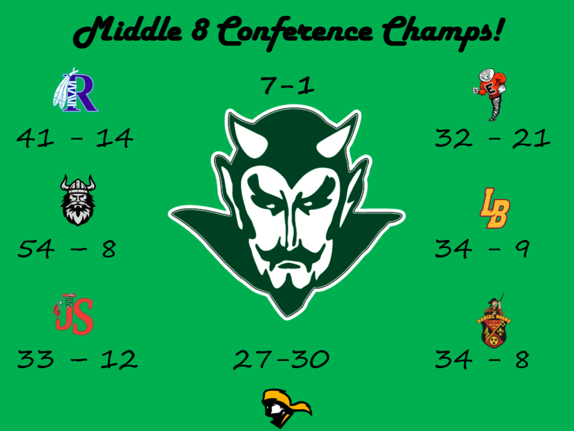 Middle 8 Conference Champions