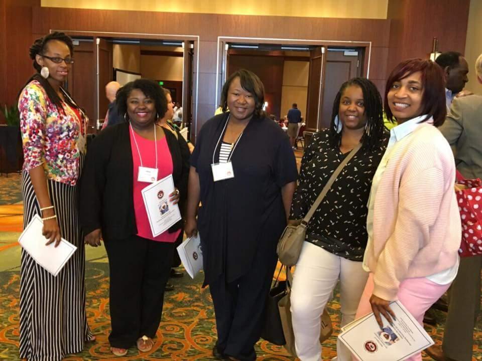 GOA staffing attending the National Alternative Education Association in Alabama.