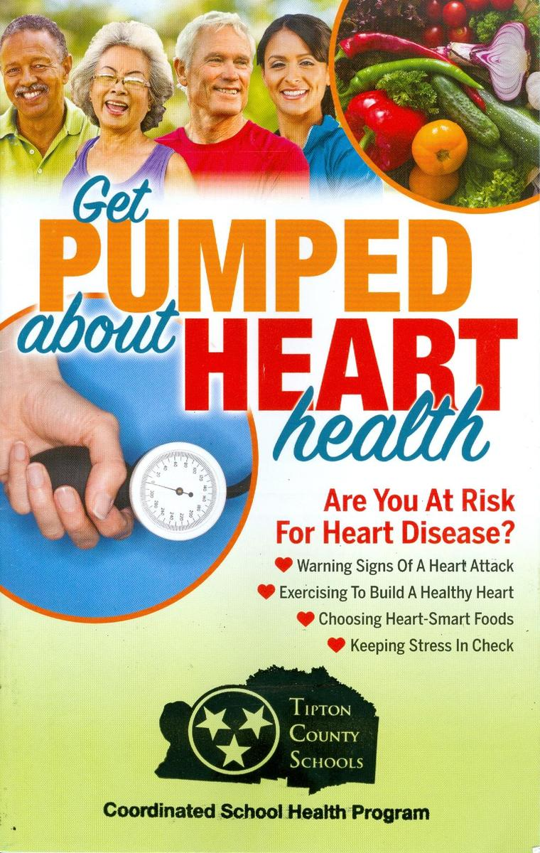 Heart Health Brochure purchased by Tipton County Schools