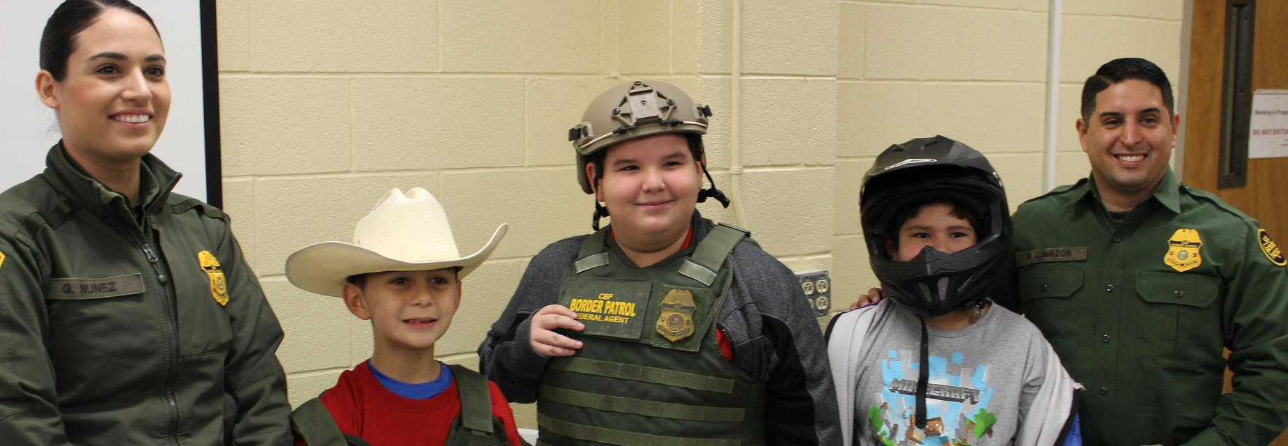 Career Day with Border Patrol