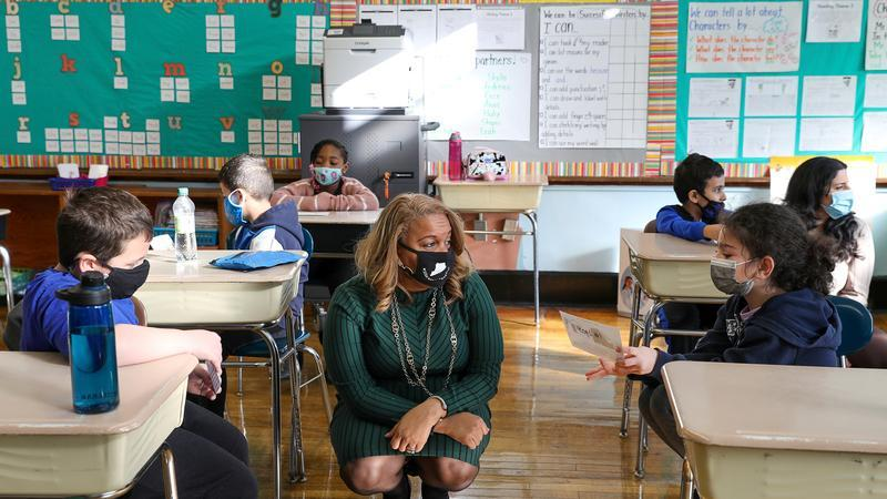 NYC School chancellor with children