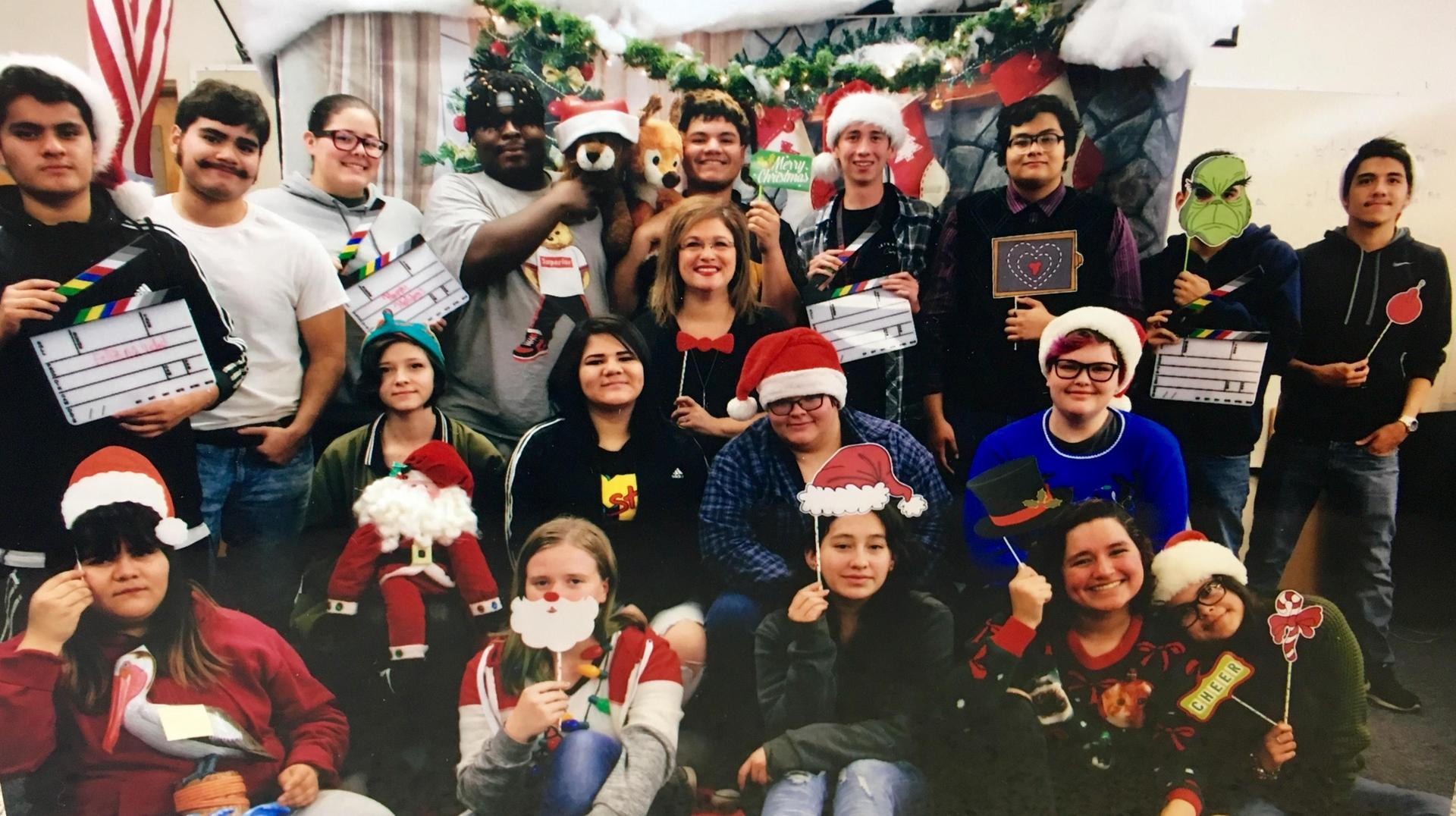 Christmas photo from the PM class!