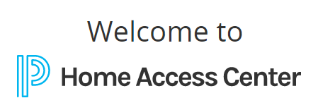 Home Access center landing page