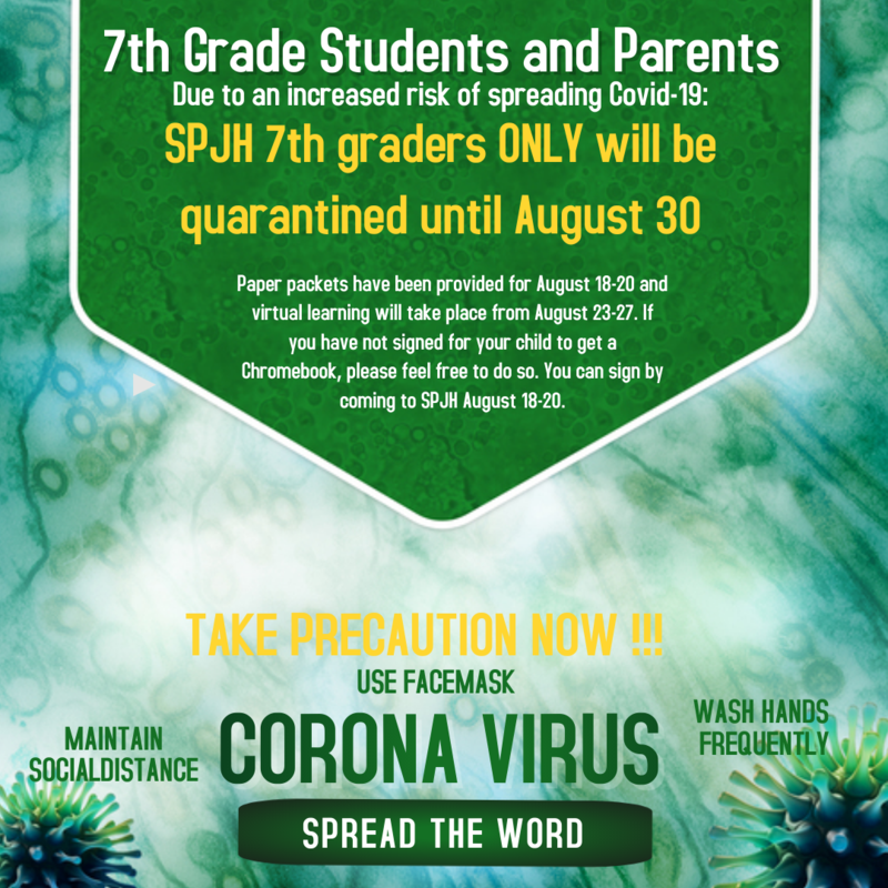 ATTN: 7TH GRADE Students and Parents Featured Photo