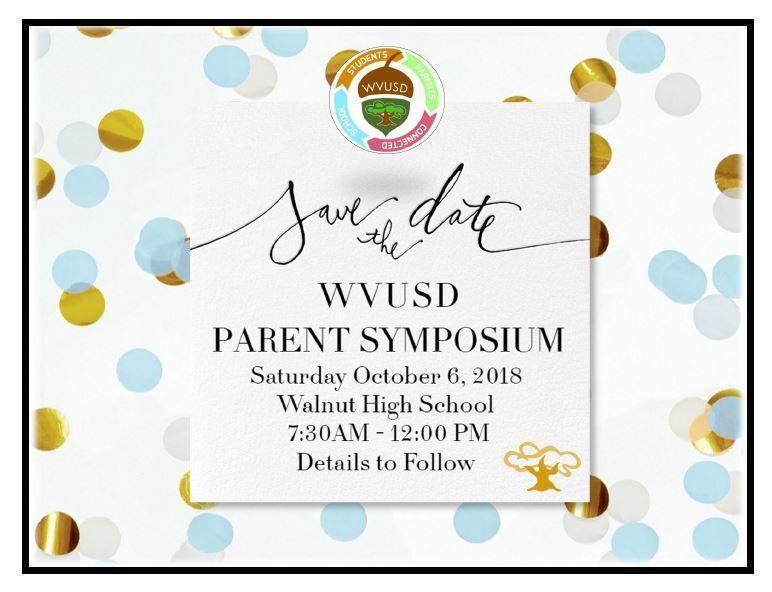 Parent Symposium Is Coming! Featured Photo