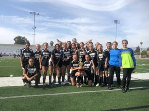 Dartmouth Girls Soccer Team - Diamond Valley League Champions
