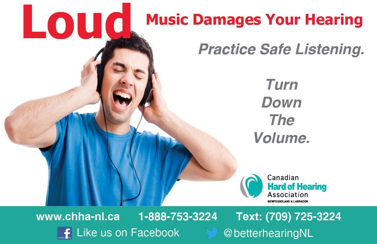 Love music but protect your hearing!