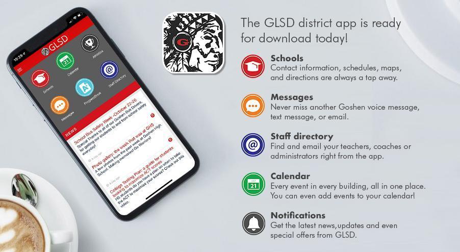GLSD app ad