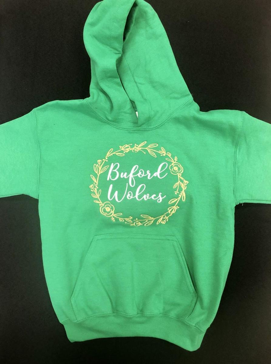 Green Girl's Hoodie