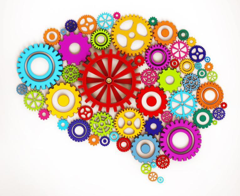 Gears and Brain Image