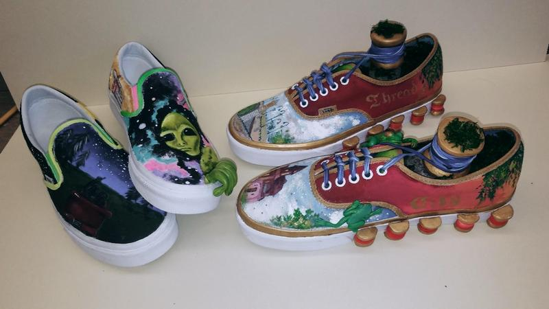 Vote for Windham High School in Vans Design Competition for the chance to win $75,000 for the art program! Thumbnail Image